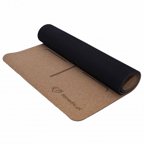 Cork Mat Yoga Fitmedic